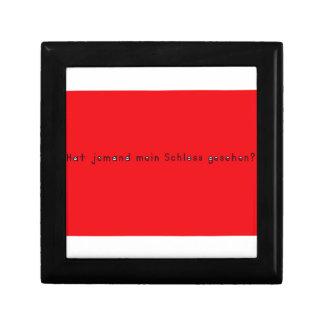 German -Castle Small Square Gift Box