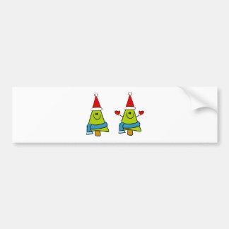 German Christmas Greetings Bumper Sticker