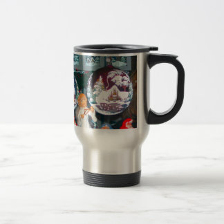 German Christmas, Heidleberg Christmas market, Stainless Steel Travel Mug