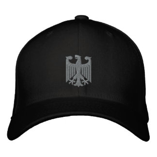 """German """"Coat of Arms"""" Emboidered Cap Embroidered Baseball Cap"""