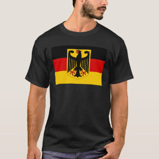 German coat of arms on flag T-Shirt