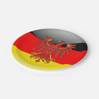 German Coat of arms Paper Plate