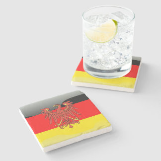 German Coat of arms Stone Coaster