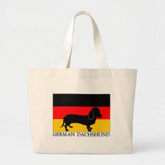 German Dachshund Canvas Bag