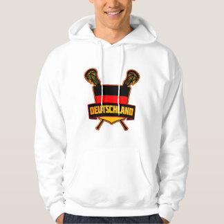 German Deutsch Lacrosse Hoodie