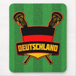 German Deutsch Lacrosse Mouse Pad