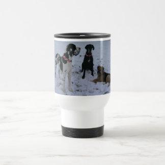 German Dogge, great dane, Hunde, Weihnachten Travel Mug