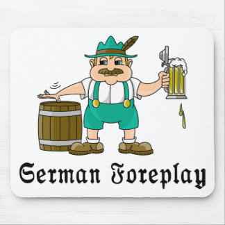 German Drinking Mouse Pad