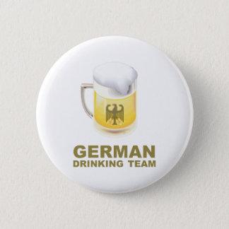German Drinking Team 6 Cm Round Badge