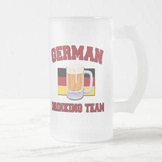 German Drinking Team mug