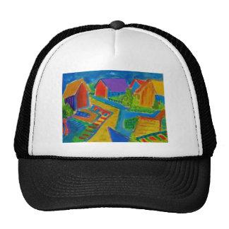 German Expressionism F21 Mesh Hats