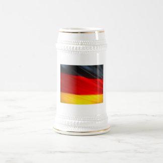 GERMAN FLAG BEER STEIN