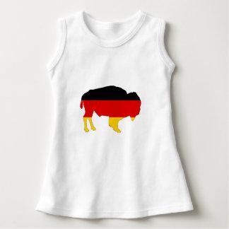 German Flag - Bison Dress