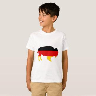 German Flag - Bison T-Shirt