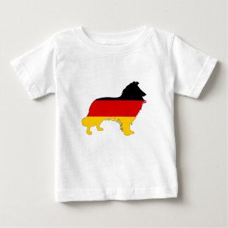 German Flag - Border Collie Baby T-Shirt