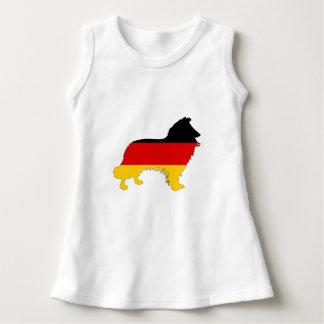 German Flag - Border Collie Dress