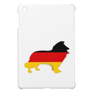 German Flag - Border Collie iPad Mini Covers