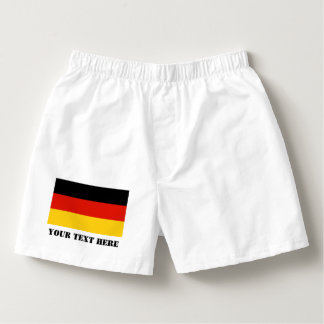 German flag boxer short or mens briefs for Germany Boxers
