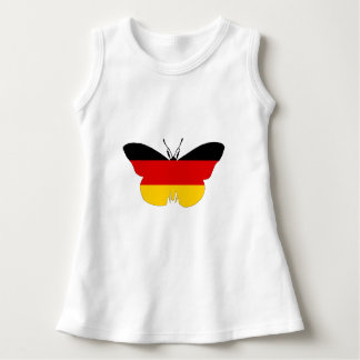 German Flag - Butterfly Dress