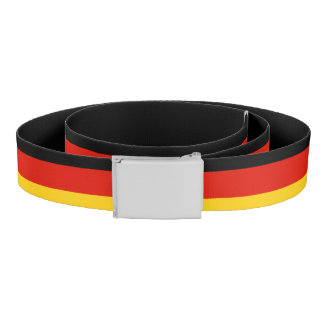 German flag canvas belt | Germany pride
