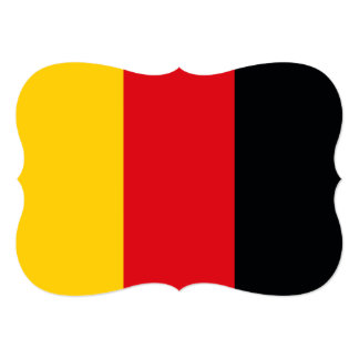 German Flag Card