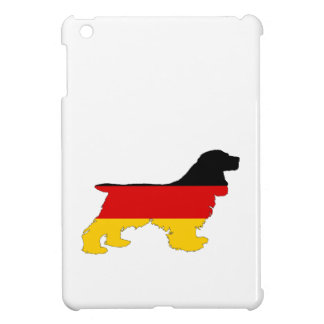 German Flag - Cocker Spaniel Case For The iPad Mini