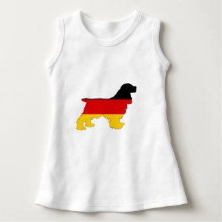 German Flag - Cocker Spaniel Dress