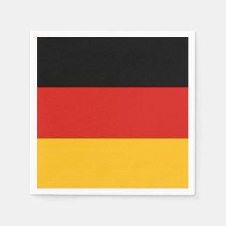 GERMAN FLAG COLORS + your ideas Disposable Serviette