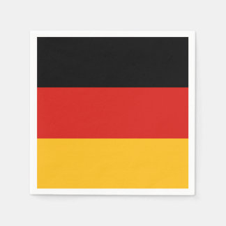 GERMAN FLAG COLORS + your ideas Paper Serviettes