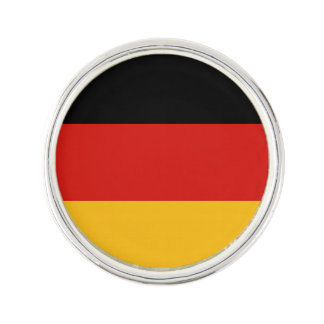 GERMAN FLAG COLORS + your text Lapel Pin