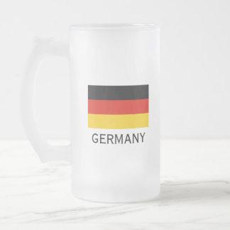 German flag custom beer stein mug for Germany