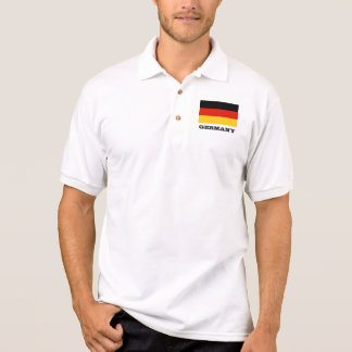 German flag custom polo shirts for men and women