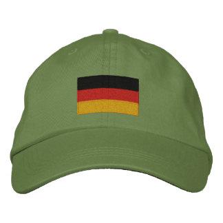 German flag embroidered adjustable cap