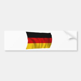 German Flag Flag German Symbol Europe European Bumper Sticker