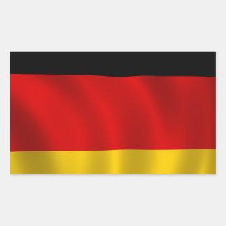 German Flag Flag German Symbol Europe European Rectangular Sticker