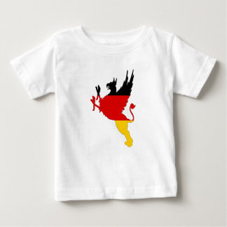 German Flag - Griffin Baby T-Shirt
