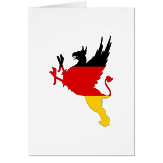 German Flag - Griffin Card