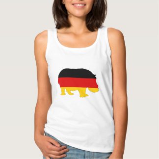 German Flag - Hippo Singlet