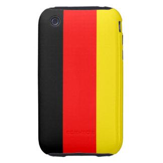 German Flag iPhone 3G/3GS Case-Mate Tough Tough iPhone 3 Case