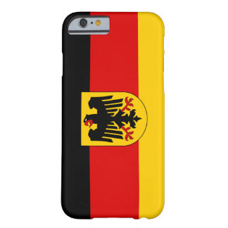 German Flag iPhone 6 case Barely There iPhone 6 Case