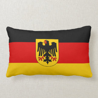 German flag lumbar cushion