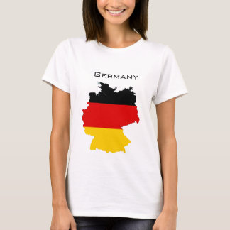 German Flag Map T-Shirt