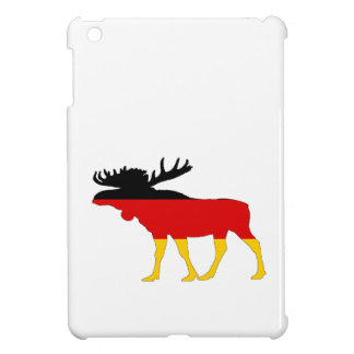 German Flag - Moose iPad Mini Case