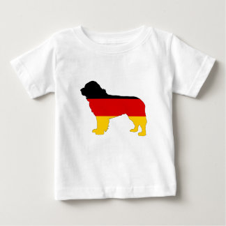 German Flag - Newfoundland Dog Baby T-Shirt