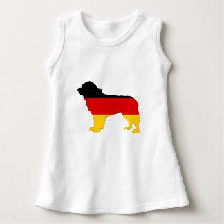 German Flag - Newfoundland Dog Dress