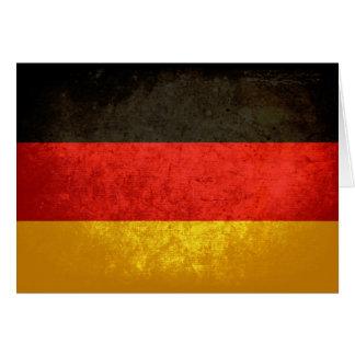German Flag Note Card