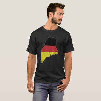 German Flag over Maine T-Shirt