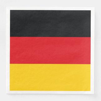 German Flag Paper Napkins
