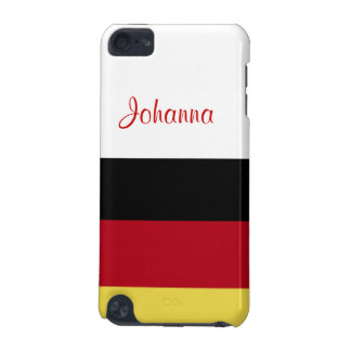 German Flag+Personalize Name iPod Touch 5G Case