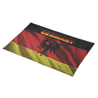 German flag placemat
